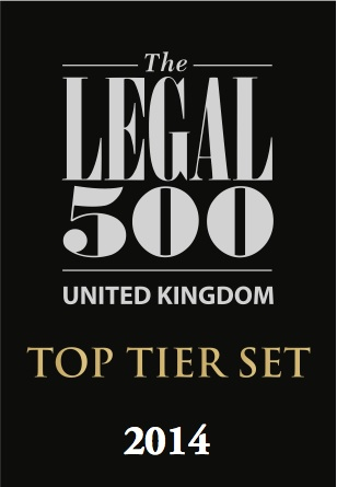 ORJ Solicitors - Legal 500 Top Tier Set 2014