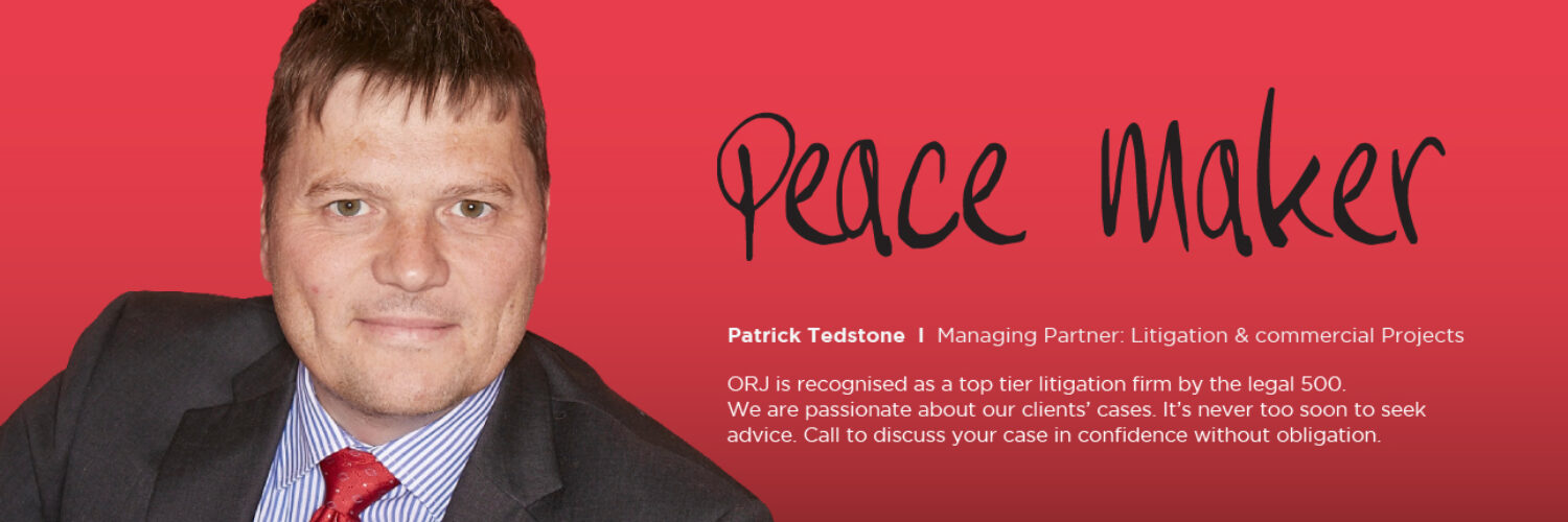 peacemaker-patrick-tedstone-litigation-commercial-projects
